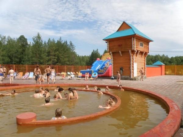 """Горячий источник """"Акварель"""" в Туринске"""