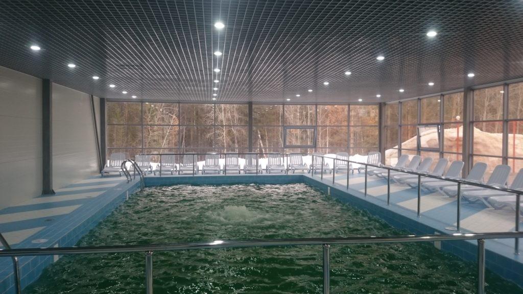 """Крытый бассейн на водоисточниках """"Акварель"""""""