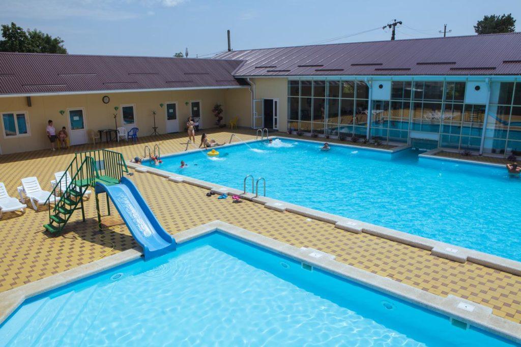 Парк отель «Изумруд» с горячими источниками
