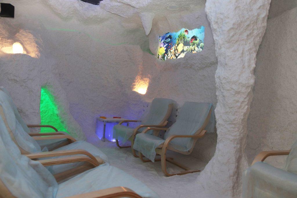 """Соляная пещера на территории термального комплекса """"Александрия"""""""
