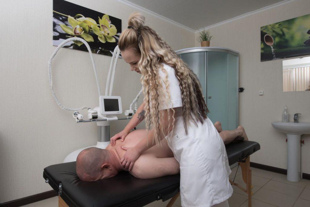 Услуги массажа в СПА-отеле Распутин