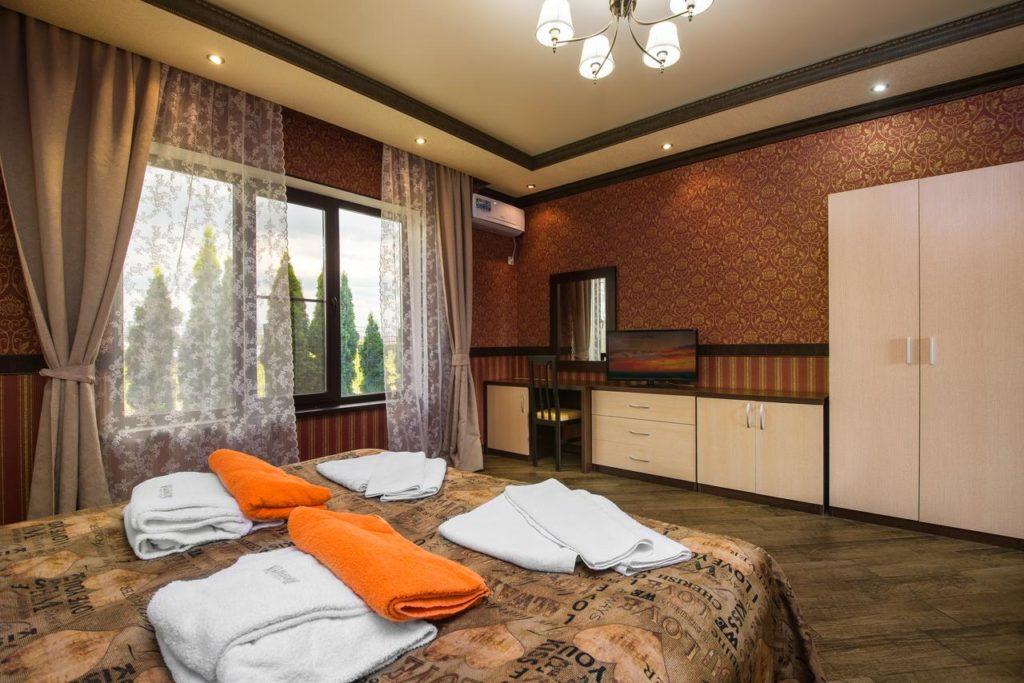 Номера в СПА-отеле Распутин с горячими бассейнами