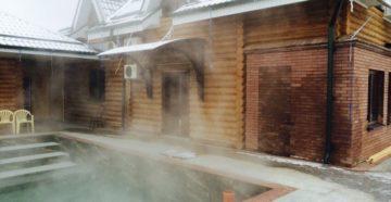 Горячий источник Аушигер в Кабардино-Балкарии