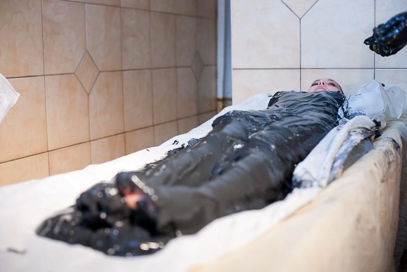 Сакские лечебные грязи в санаториях Крыма