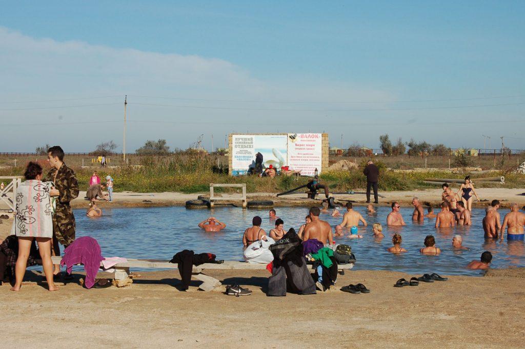 Термальный источник села Стрелковое в Крыму