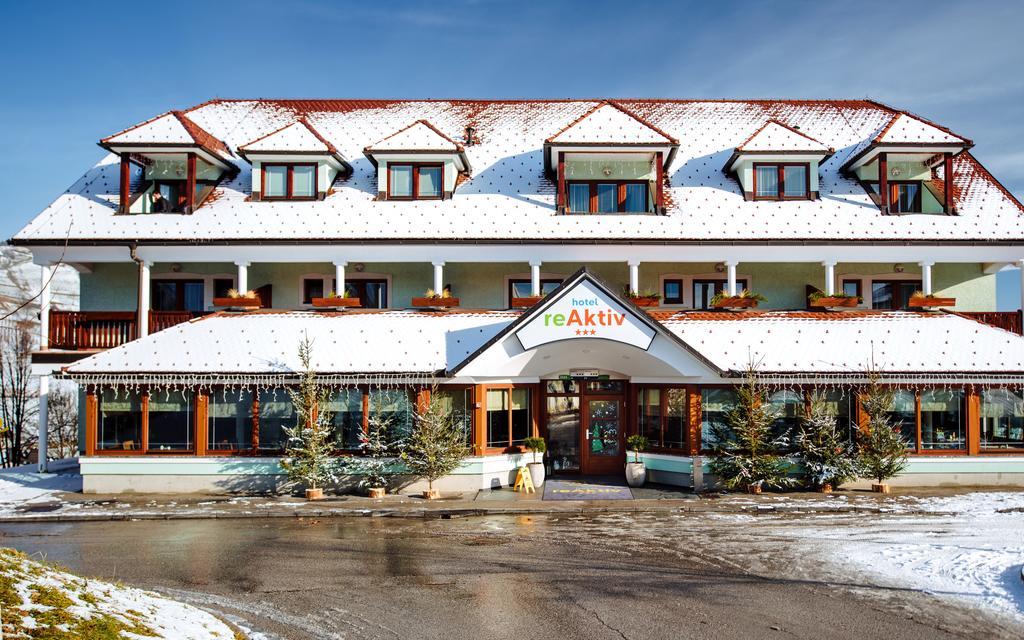 Отель Hotel reAktiv на теральном курорте Терма Зрече в Словении